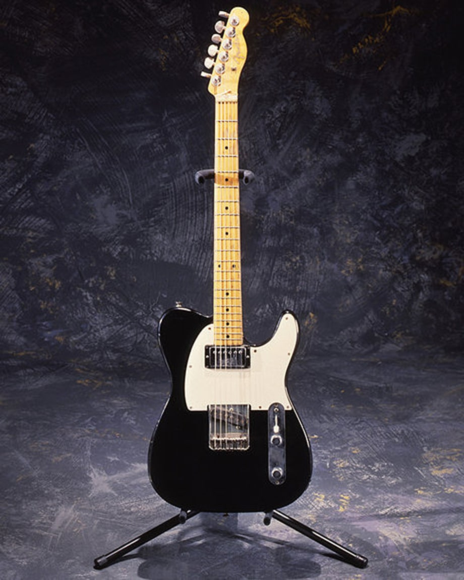 John Lennon Rock Hall: Black and White Telecaster