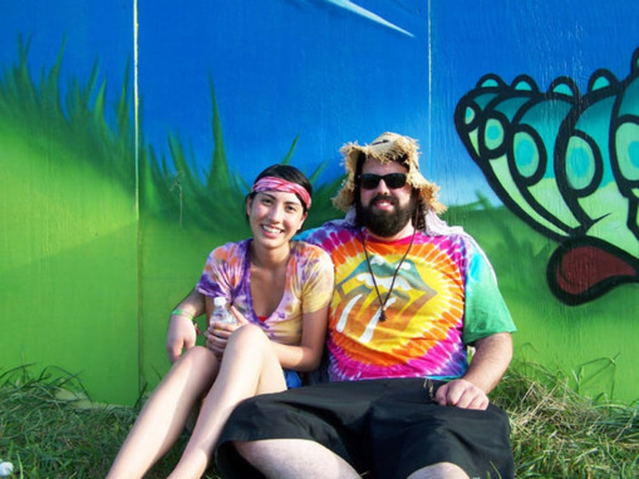 Bonnaroo Fans 2009: Fan Couple