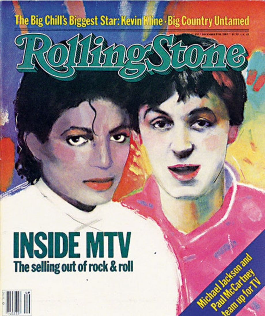 Rolling Stone Cover: Issue #410: Michael Jackson and Paul McCartney December 8, 1983