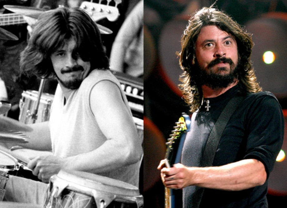 John Bonham and Dave Grohl