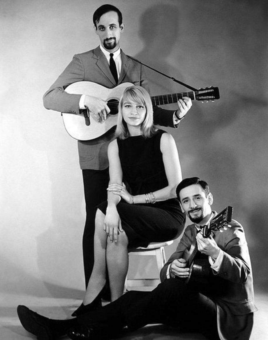 Peter Paul and Mary: 1960: group