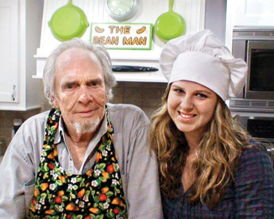 Merle Haggard: 1989: Merle and Janessa (daughter)