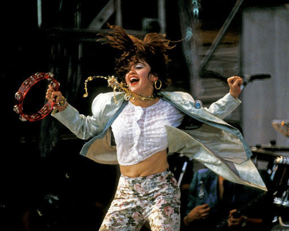 live aid 1985 celebrating madonna the queen of pops