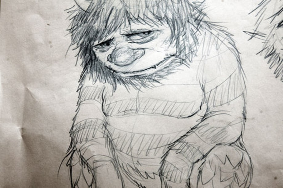 Where The Wild Things Are Sketches: Carol sketch