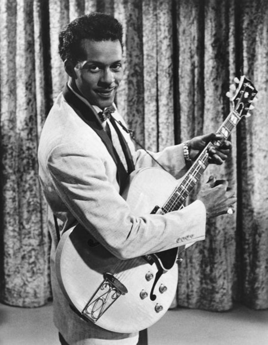 Chuck Berry (1986 Inductee)