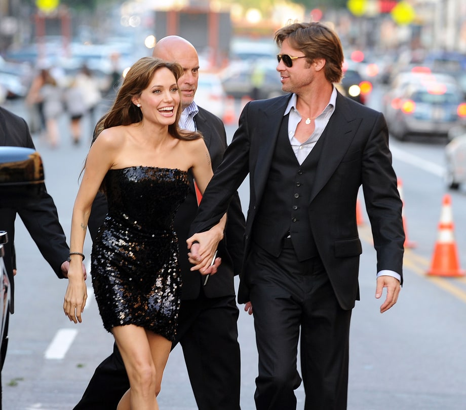Angelina Jolie is dating a real estate agent after Brad