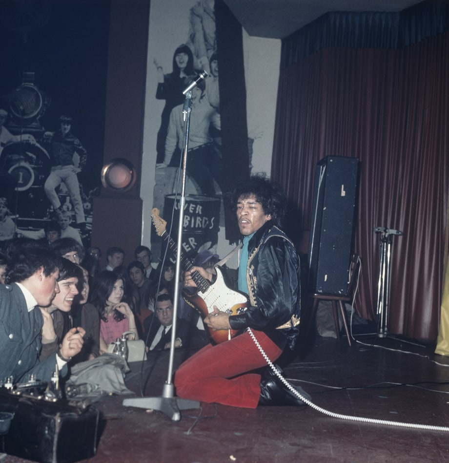 The Jimi Hendrix Experience Worldwide Tour The 50