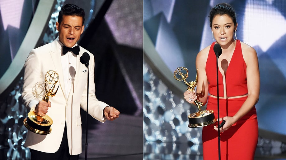 Best: Rami Malek and Tatiana Maslany Take Top Acting Honors