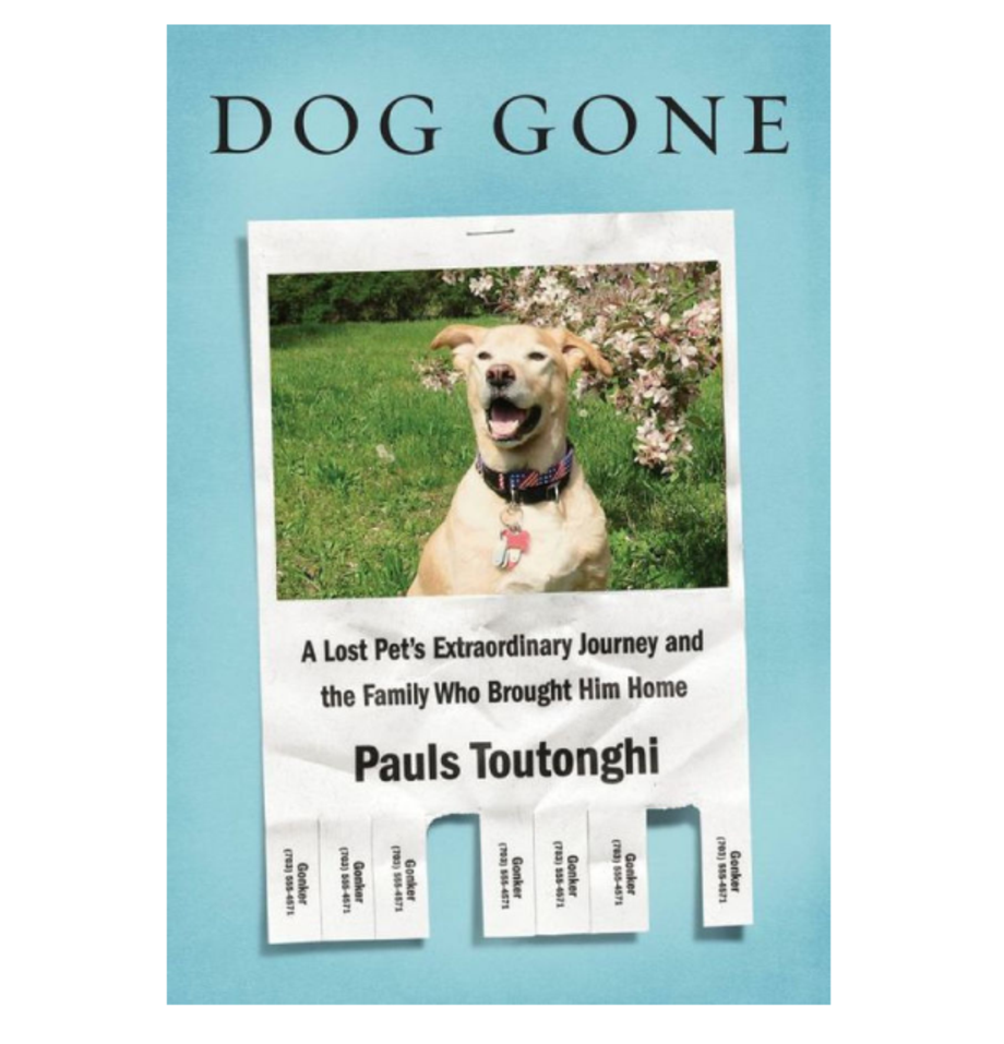 Dog Gone: A Lost Pet's Extraordinary Journey and the Family Who Brought Him Home, Pauls Toutonghi (Knopf)