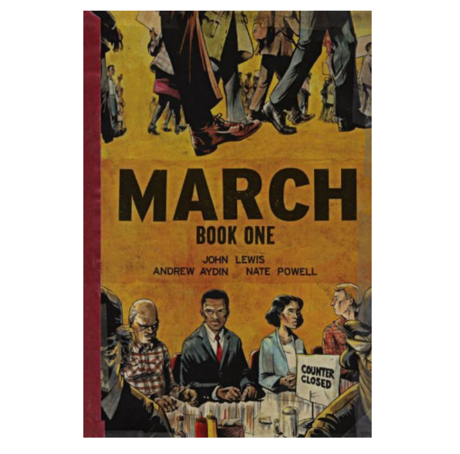 March: Book Three, John Lewis, Andrew Aydin and Nate Powell (Top Shelf)
