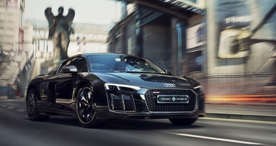 Square Enix and Audi Japan have teamed up for a one-of-a kind custom R8. We'd say it was the ultimate special edition, but it doesn't come with a copy of the game