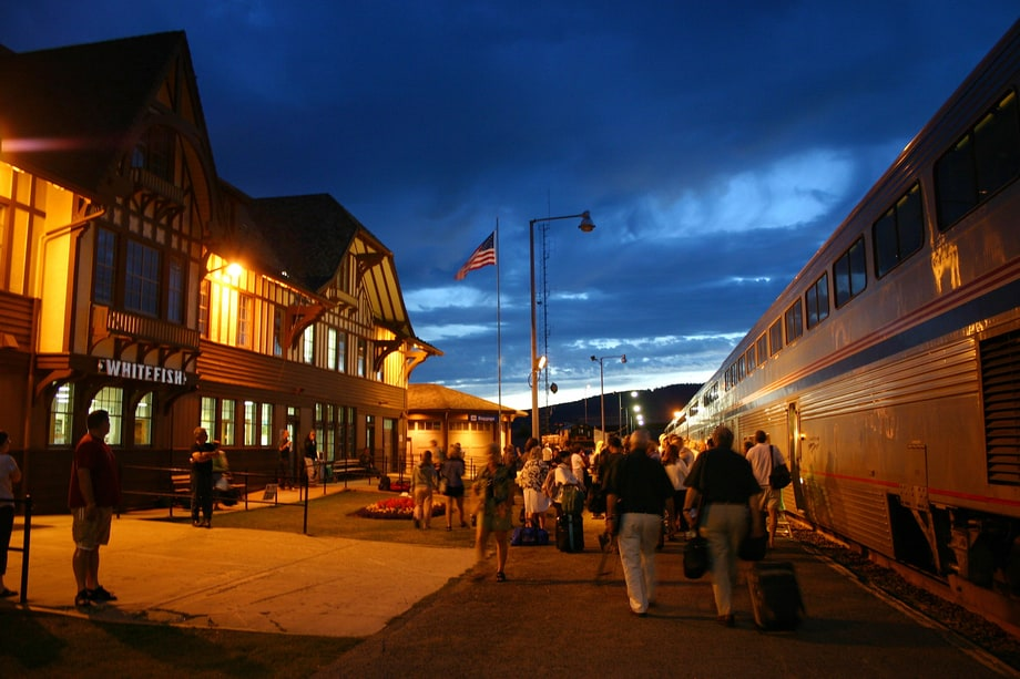 Seattle To Whitefish Montana On Amtrak Why Your Next
