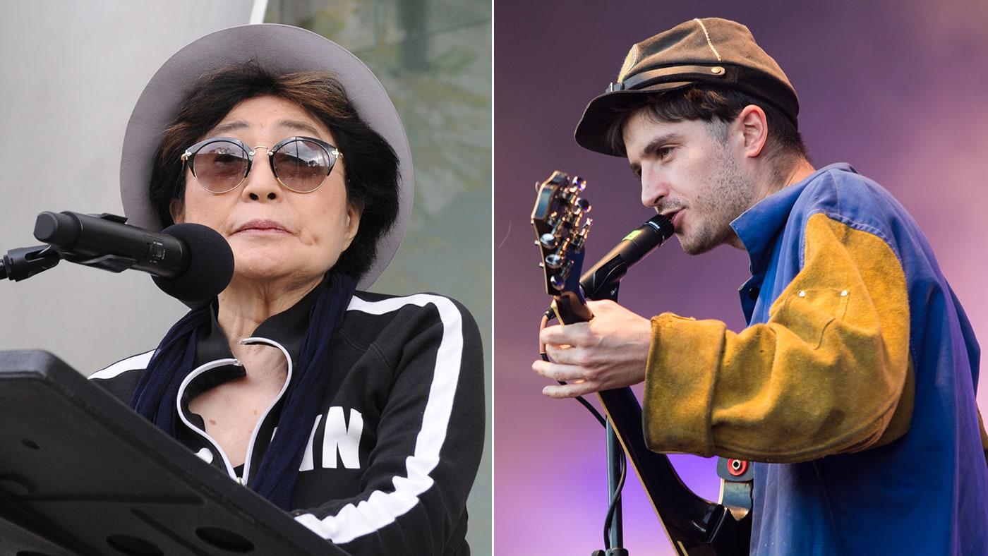 The Beatles Polska: Yoko Ono z synem Seanem Lennonem pracowała przy albumie grupy Black Lips