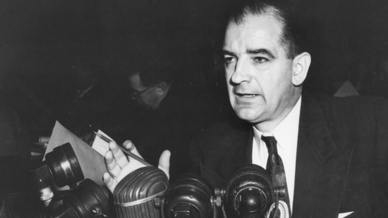 an biography of joseph mccarthy a senator Joseph raymond mccarthy (november 14, 1908 – may 2, 1957) was an american politician who served as us senator from the state.