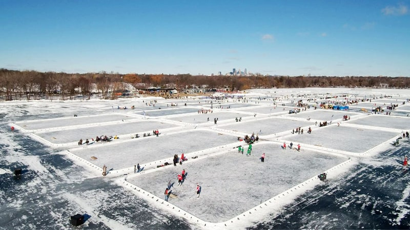 Ice, Beer, Blood: Three Days Of Pond Hockey's 'Field Of Dreams' (A Week Old)