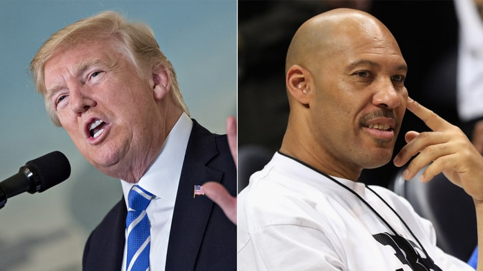 Trump Continues Attacks On Father Of Basketball Player