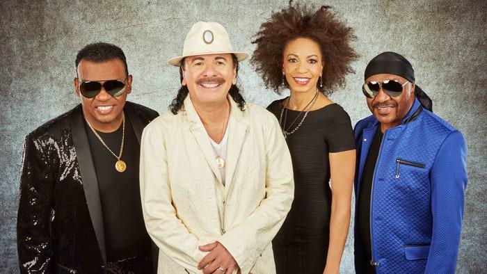 Santana And Isley Brothers Tour