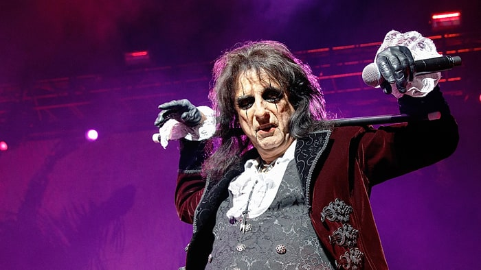 Alice Cooper Finds Lost Andy Warhol Painting In Storage Lock-Up