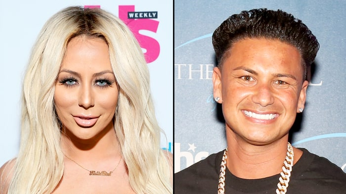 Aubrey O'Day and Pauly D's Engagement Secret Revealed! on Famously ...