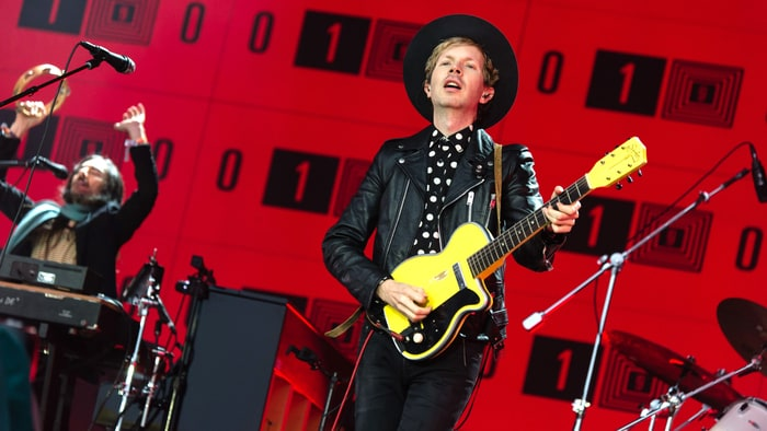 Hear Beck's Ultra Poppy New Song 'Up All Night' news