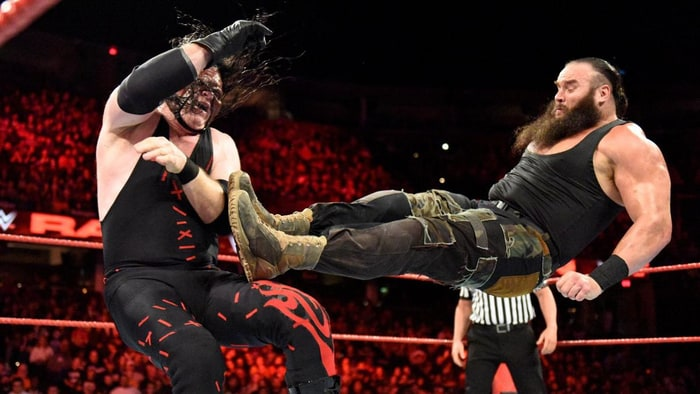 WWE Raw: Braun Strowman, Kane collide to become No. 1 contender