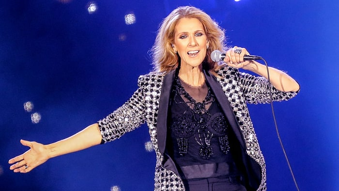 Celine Dion deflects love life question with impromptu Rihanna cover