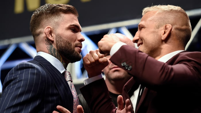 Cody Garbrandt Reveals TJ Dillashaw Training KO Video; Dillashaw Responds