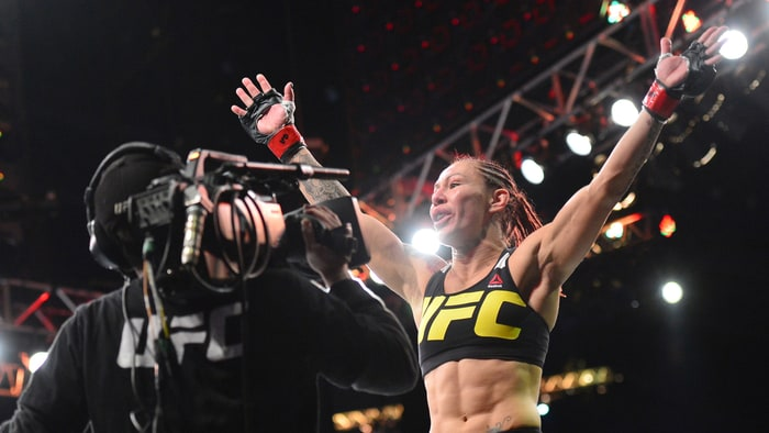 Cris Cyborg discuses Ronda Rousey before biggest fight of her career