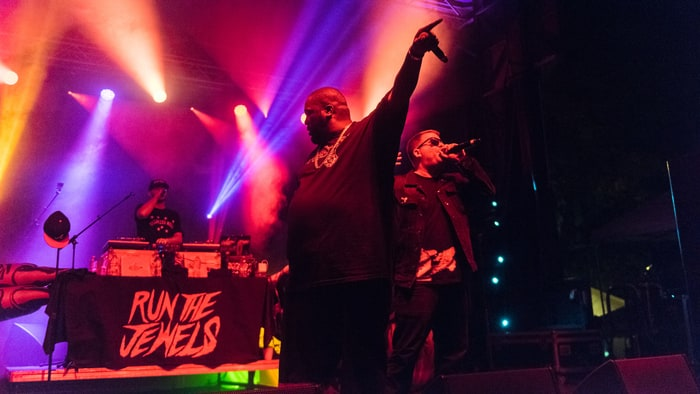 """Run the Jewels Brought Out Nas to Perform """"Made You Look"""" at Coachella 2016 news"""