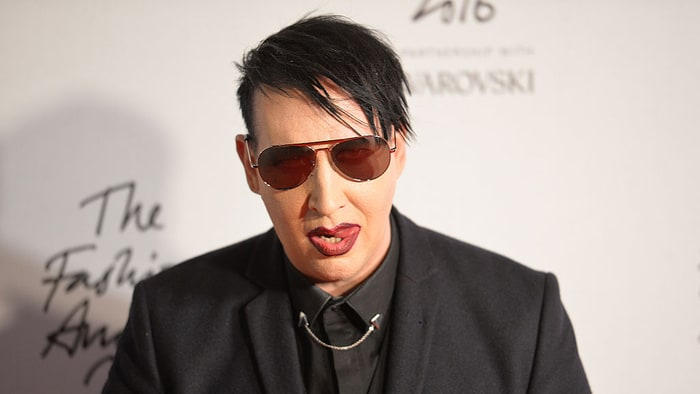 Marilyn Manson hospitalized after NY  concert performance