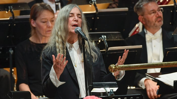 See Cartoon Patti Smith Talk Censorship: 'Government Doesn't Know S t' news