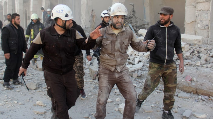 One of the two members of the Syrian civil defense unit the White Helmets that planned on attending the Oscars has been blocked from entering the U.S. ...