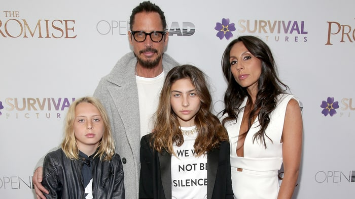 Chris Cornell's widow planning statue of late husband in Seattle