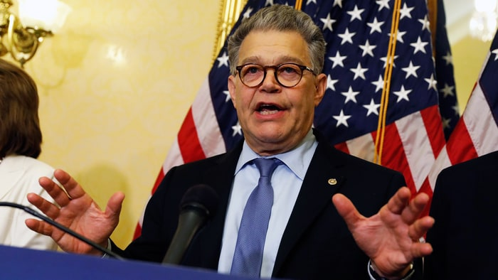 Woman says Al Franken grabbed her butt in 2010 while he was in office