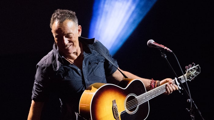 Bruce Springsteen goes seventies pop on new album