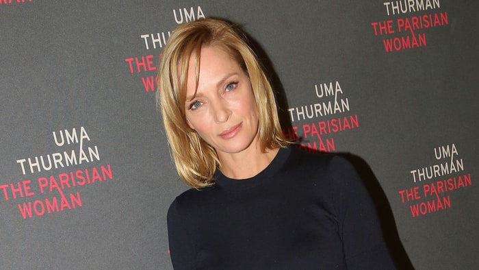 Uma Thurman posts a lethal #MeToo thanksgiving message for Harvey Weinstein