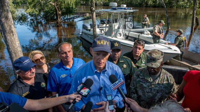 Gov. Scott Grants License-Free Fishing to First Responders