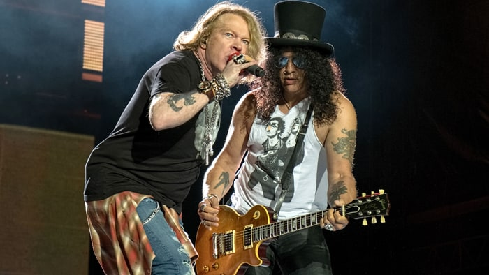 See First Photos of Axl Rose and Slash Reunited in Guns N' Roses news