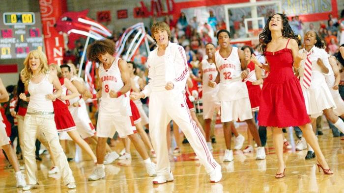 High School Cheerleader Locker Room