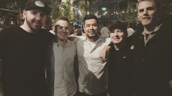 Superb (Left To Right) Di3seL, Fwiz, H3CZ, J, And Hutch