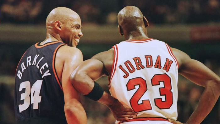 Charles Barkley opens up about his friendship with Michael Jordan. Credit: Brian Bahr/AFP/Getty