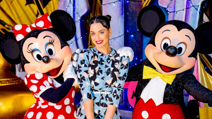Katy Perry and Orlando Bloom take their relationship to Disneyland Shanghai