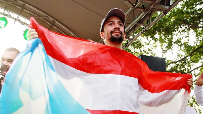 Lin-Manuel Miranda gathers all-star Latin artists for hurricane relief