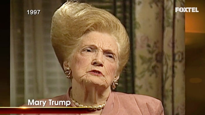 celebrity beauty news donald trump late mary identical hairstyles