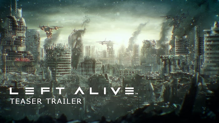 Square Enix announces mech game Left Alive for PC and PS4