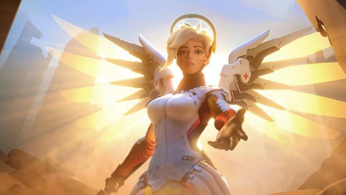 Blizzard might have realised Mercy is a bit overpowered in Overwatch now