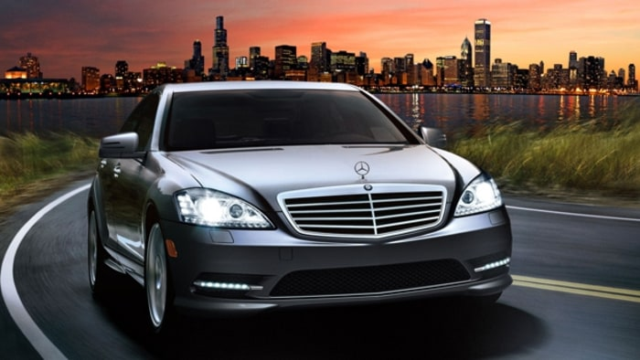 the first class luxury sedan credit courtesy of mercedes benz - Mercedes Benz 2014 S550