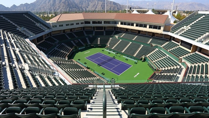 Indian Wells Bnp Paribas Open Stadium 2 Men 39 S Journal
