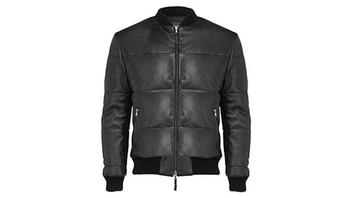 Lot78 Padded Bomber Jacket: Best Leather Jackets - Men's Journal