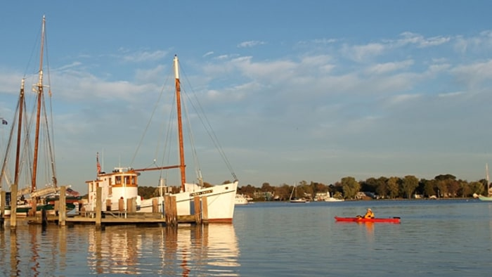 Diy house on chesapeake bay